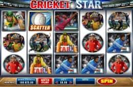 Kostenloses Online-Automatenspiel Cricket Star