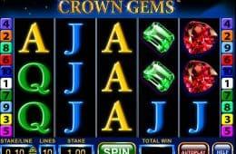 Drehen Sie die Walzen beim Casino-Automatenspiel Crown Gems