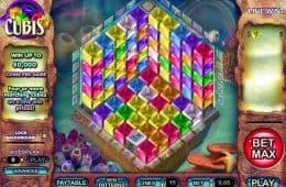 Spielen Sie den Online-Spielautomaten Cubis