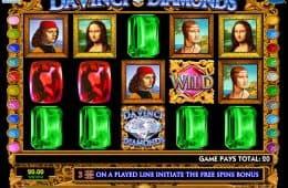 Online-Automatenspiel Da Vinci Diamonds