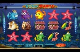 Spielen Sie den kostenlosen Spielautomaten Fish Party