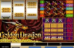 Online-Spielautomat Golden Dragon