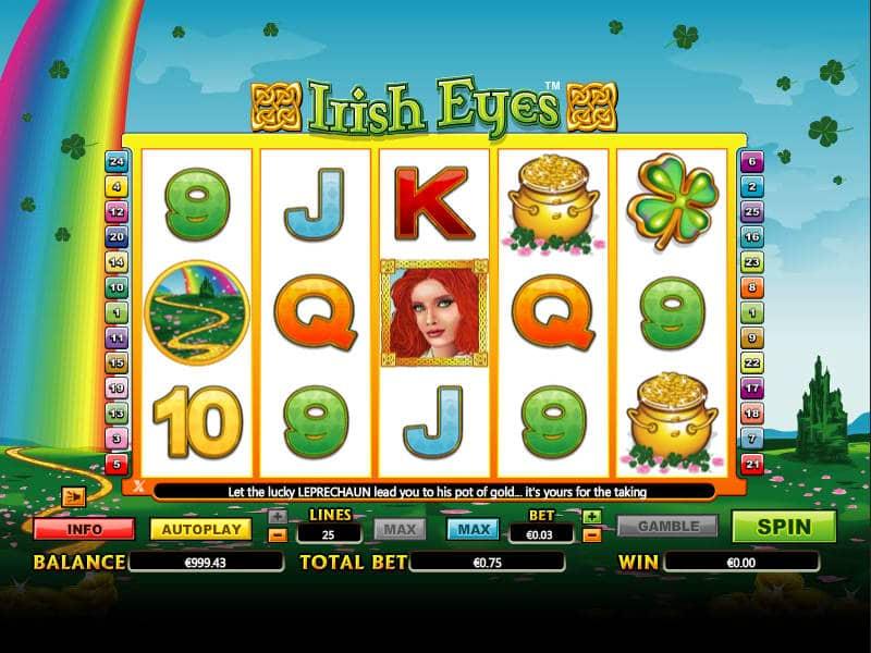 Spiele Irish Eyes Mini - Video Slots Online