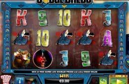 Kostenloser Online-Spielautomat Judge Dredd