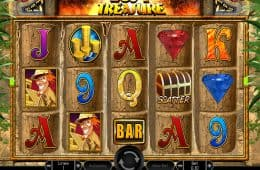 Online-Casino-Spielautomat Lost Treasure