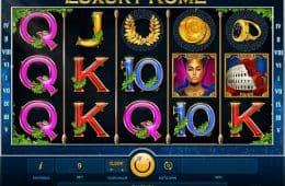 Kostenloser Online-Spielautomat Luxus Rome