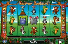 Online-Spielautomat Super Safari