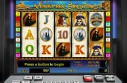 Kostenloses Online-Spielautomat Venetian Carnival