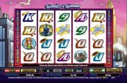 Spielen Sie das Online-Casino-Automatenspiel Wonder Woman