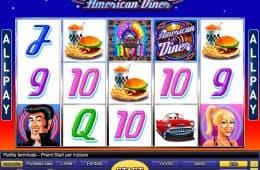 American Diner Online-Spielautomat von Novomatic