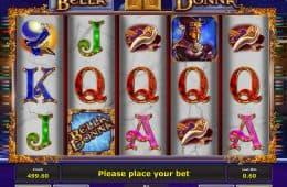 Spielen Sie Bella Donna Online Spielautomaten kostenlos