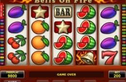 Spielen Sie den kostenlosen Online-Spielautomaten Bells on Fire