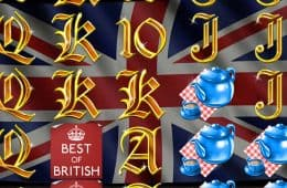 Online-Casino-Automatenspiel Best of British