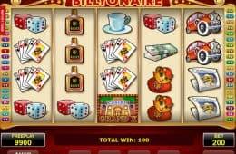 Bild des Casino-Spielautomaten Billyonaire