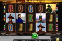 Drehen Sie das Online-Casino-Automatenspiel Cannon Donner