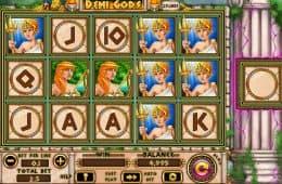 Kostenloser Spielautomat Demi Gods ohne Einzahlung
