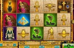 Online-Casino-Automatenspiel Egyptian Rebirth zum Spaß