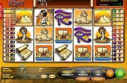 Kostenloses Casion-Automatenspiel Fortunes of Egypt ohne Einzahlung