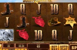Spielen Sie den Spielautomaten John Wayne Online