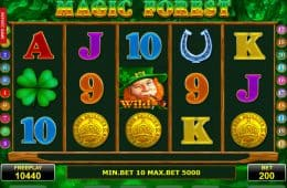 Kostenloser Casino Online Spielautomat Magic Forest