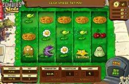 Spielen Sie kostenlos den Online-Spielautomaten Plants vs. Zombies
