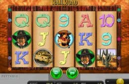 Kostenloser Online Spielautomat Rail Road ohne Einzahlung