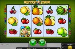 Bild vom kostenlosen Spielautomaten Random Joker