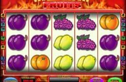 Spielen Sie den kostenlosen Spielautomat Red Hot Fruits ohne Einzahlung