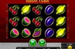 Spielen Sie den Spielautomaten Rising Liner Online