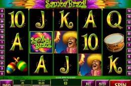 Spielen Sie den kostenlosen Spielautomaten Samba Brazil