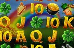 Spielen Sie den kostenlosen Online Spielautomaten Shamrock'n'Roll zum Spass
