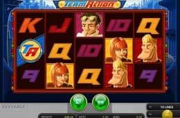 Spielen Sie den kostenlosen Spielautomaten Team Action