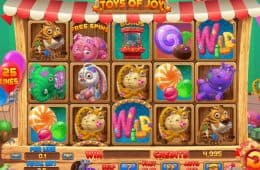 Casino Online Spielautomat Toys of Joy zum Spass