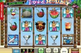 Kostenloser Online Spielautomat Tropical Holiday ohne Einzahlung
