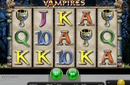 Kostenloser Spielautomat Vampires ohne Einzahlung