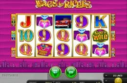 Wags to Riches Spiel ohne Download