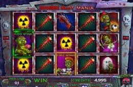 Spielen Sie den Zombie Slot Mania Online Spielautomaten