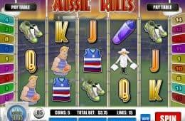 Aussie Rules Slot von Rival Gaming