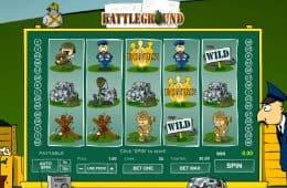Dreht Schlachtfeld Online-Spielautomat-Spiel