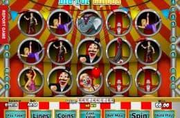 Kostenloses Online-Automatenspiel Big Top Circus