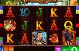 Spin Spielautomat Online-Books und Bulls