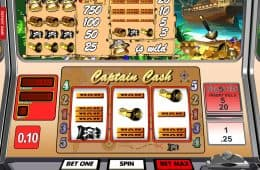 Captain Cash Online-Slot von Betsoft