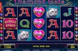 Keine Einzahlung Spiel Diamond Katzen Online