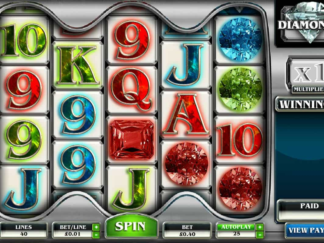 20 diamonds spielautomat