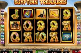 Spin am Casino Slot-Spiel Egyptian Treasures