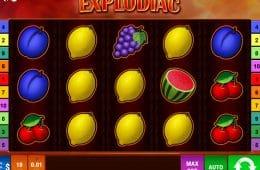 Explodiac Spielautomat registrierungsfrei