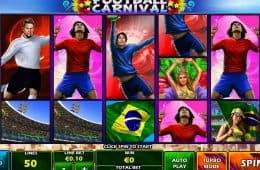 Online-Spielautomat Fußball-Karneval
