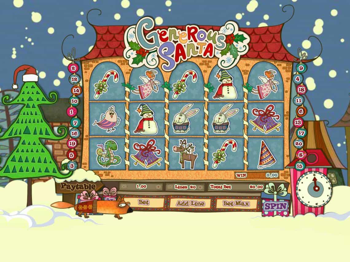 ᐈ Generous Santa ™ Spielautomat Kostenlos Online Casino Spiel