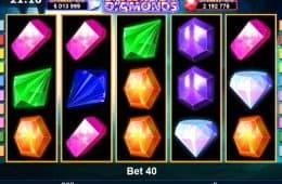 Spiele kostenlose Online Spielautomat Jackpot Diamanten