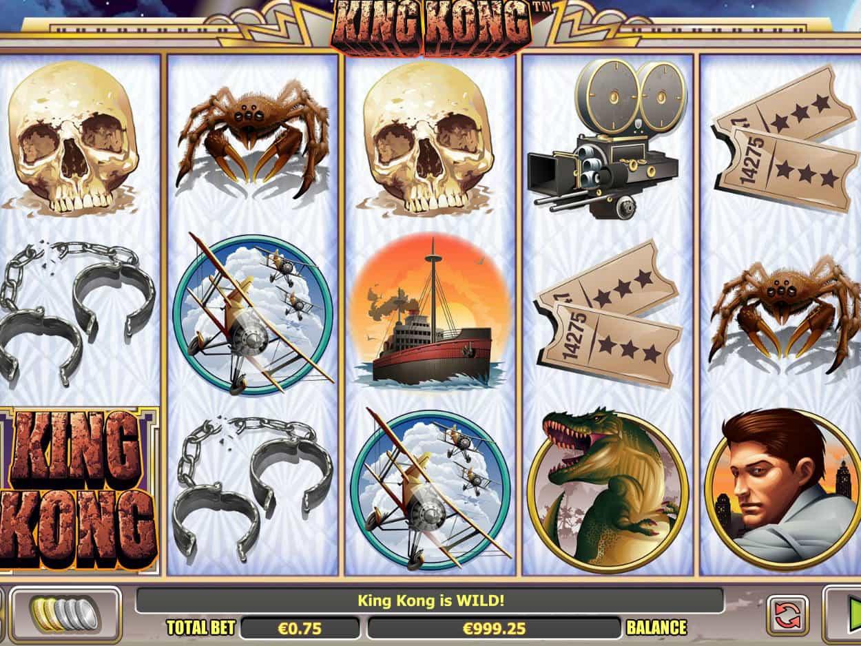 King Kong Spiel